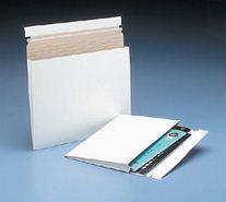 Expand-A-Mailer™ White Self-Seal Gusseted Mailer