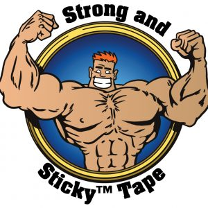 Medium Duty Strong and Sticky™ Hot Melt Tape