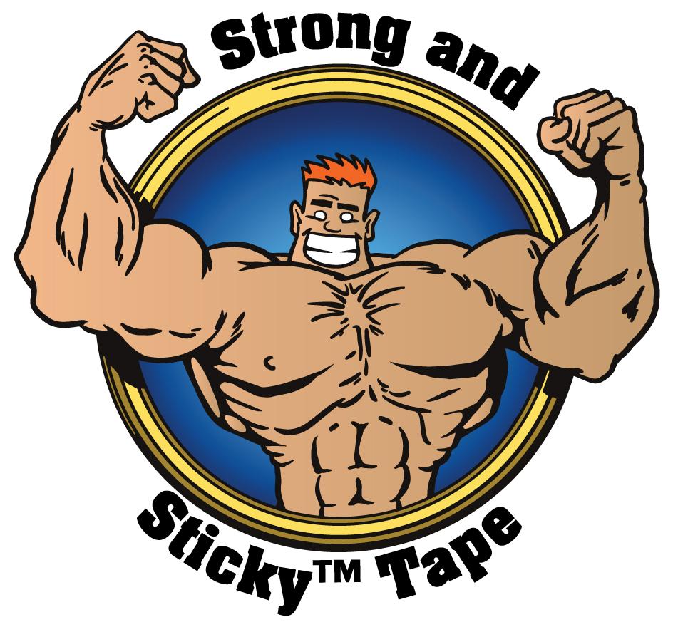 Medium Duty Strong and Sticky™ Hot Melt Tape