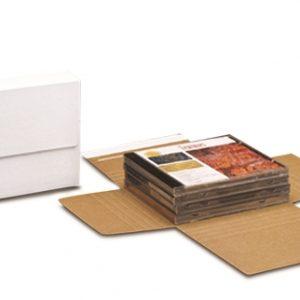 Self-Seal Corrugated Bookfolds