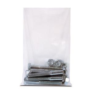 Heavy Duty Flat Poly Bags, 4 Mil