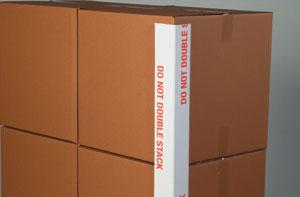 DO NOT DOUBLE STACK Printed Edge Protectors